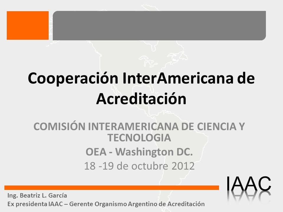 Acreditación Reconocimiento formal de competencia e imparcialidad a organismos de evaluación de la conformidad.