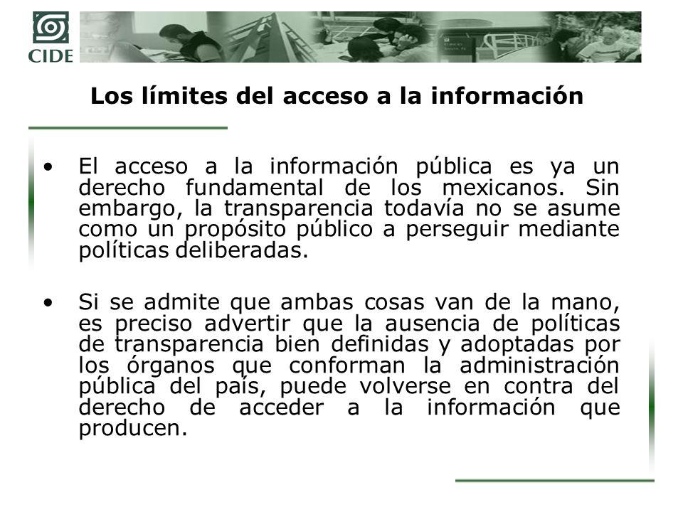 La diversidad de la transparencia El derecho de acceso a la información pública debe ser el mismo para todos los ciudadanos, pero las políticas de transparencia deben ser tan diversas como las organizaciones que componen el complejo y extenso llamado sector público.