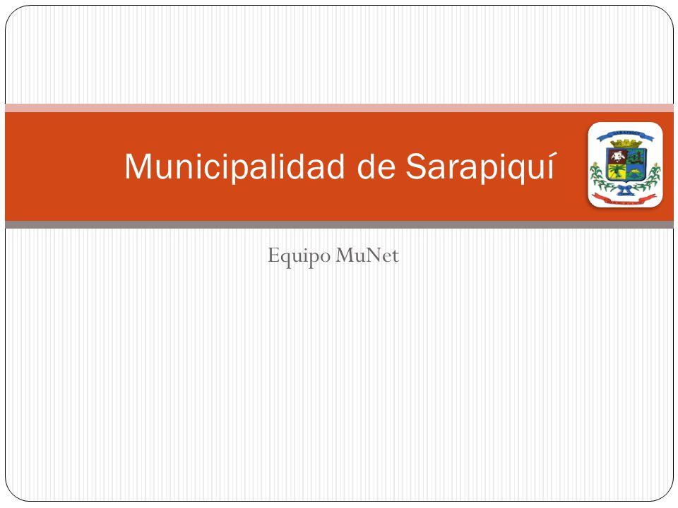 Equipo MuNet Municipalidad de Sarapiquí