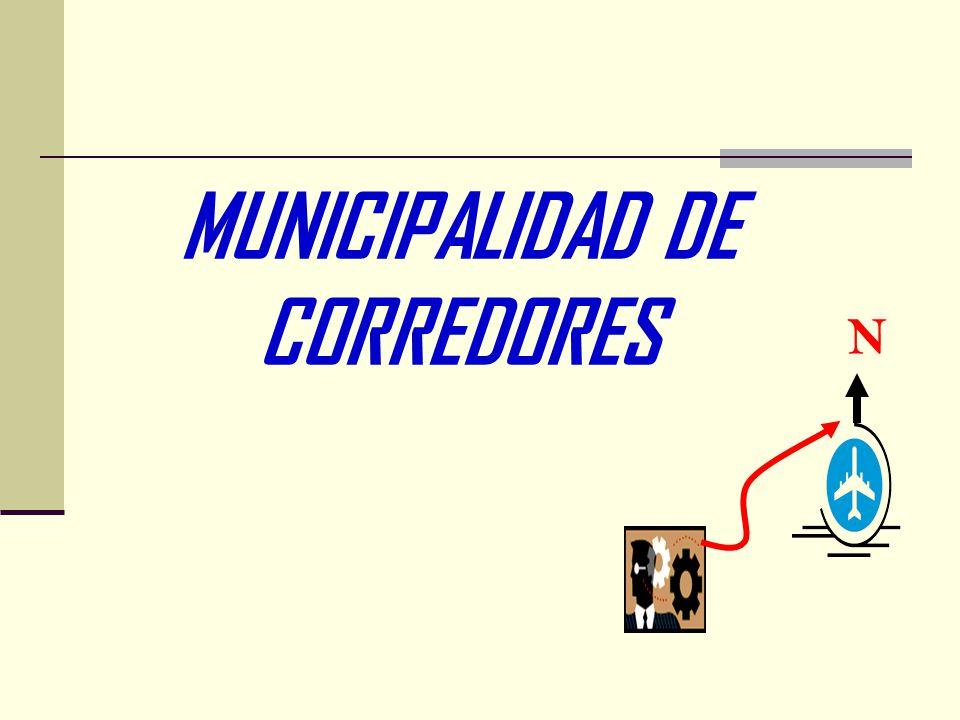 MUNICIPALIDAD DE CORREDORES N