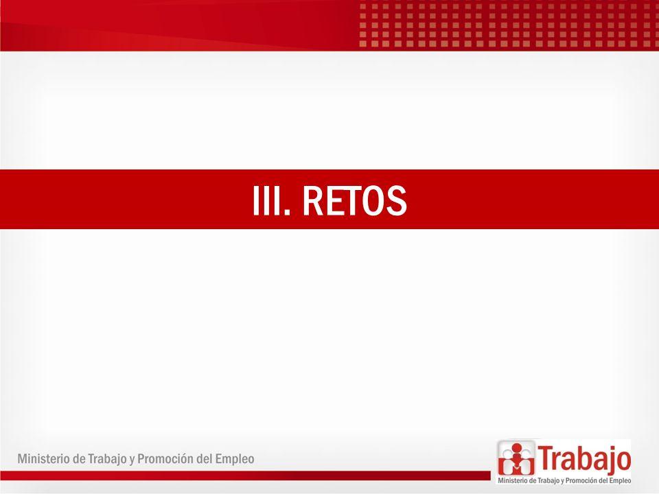 III. RETOS