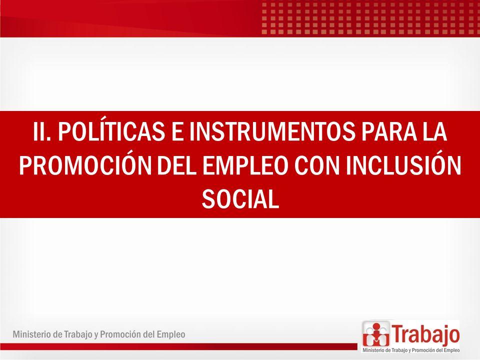 En los últimos 10 años, el Perú ha mantenido políticas macroeconómicas estables, sostenidas en una prudente política monetaria y fiscal, apertura comercial, y seguridad jurídica para la inversión privada, que ha sido el motor del crecimiento del empleo.