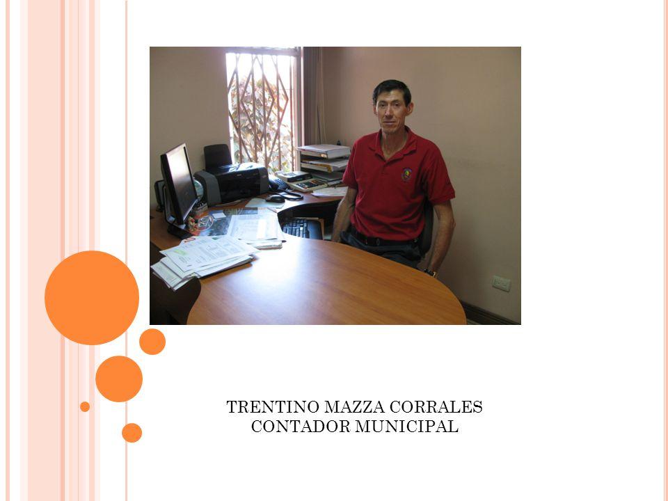 TRENTINO MAZZA CORRALES CONTADOR MUNICIPAL