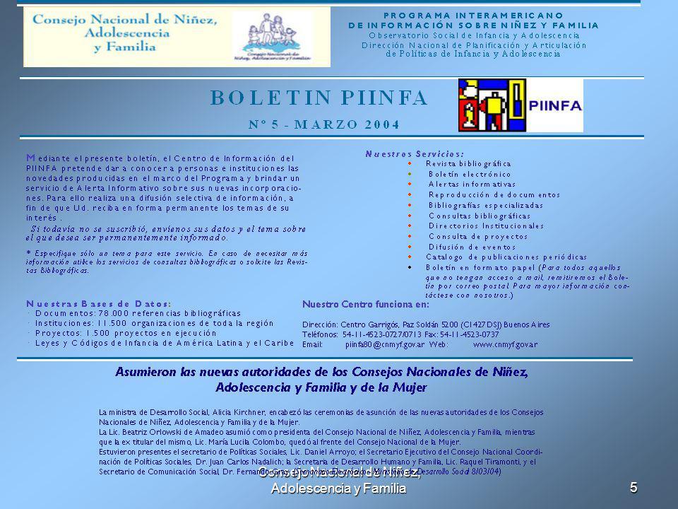 Consejo Nacional de Niñez, Adolescencia y Familia5