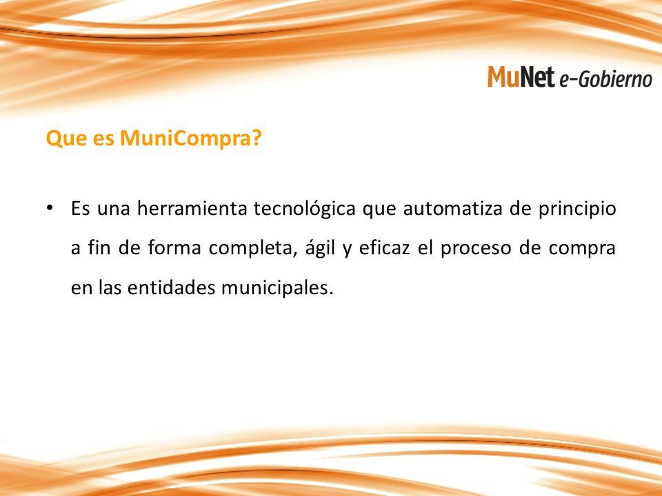 Que es MuniCompra.