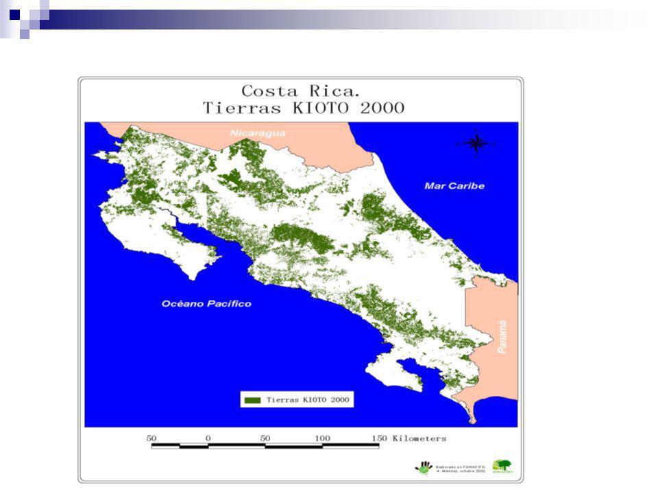 Análisis de vacíos de conservación Vacío Total Nacional 283,322 hectáreas (5.55% del territorio de Costa Rica).