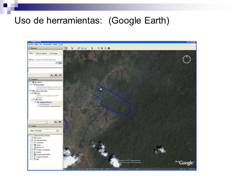 Uso imágenes de satélite