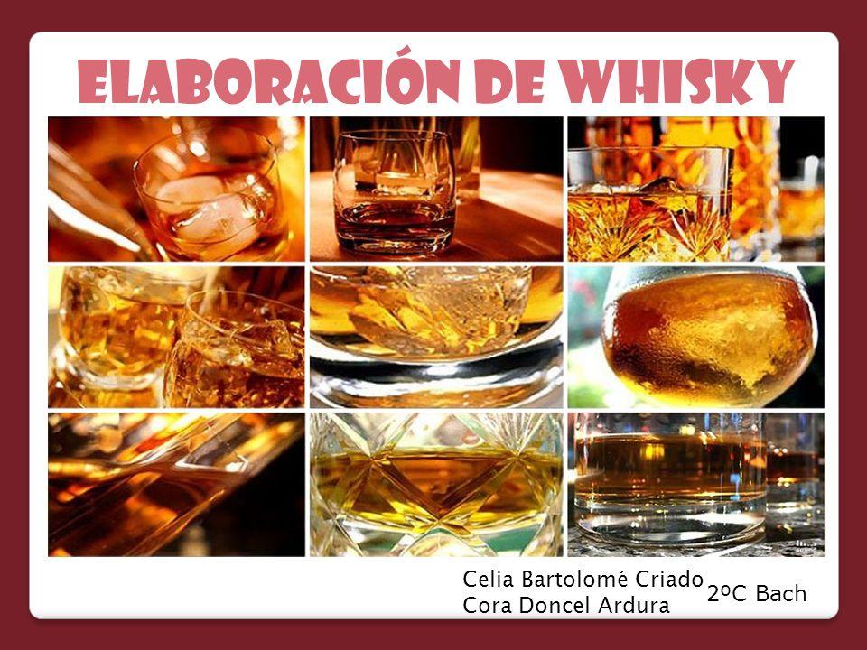 ELABORACIÓN de whisky Celia Bartolomé Criado Cora Doncel Ardura 2ºC Bach