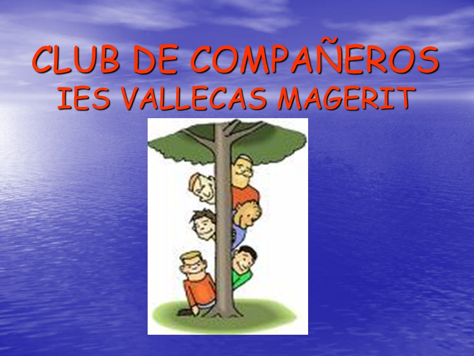 CLUB DE COMPAÑEROS IES VALLECAS MAGERIT