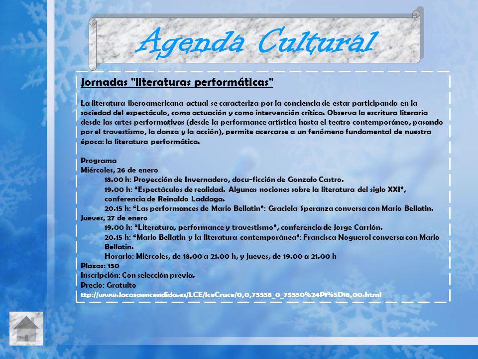 Agenda Cultural Jornadas