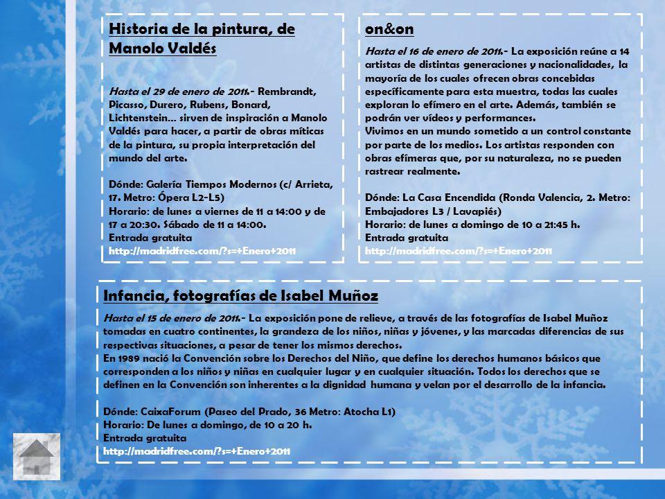 Historia de la pintura, de Manolo Valdés Hasta el 29 de enero de 2011.- Rembrandt, Picasso, Durero, Rubens, Bonard, Lichtenstein… sirven de inspiració