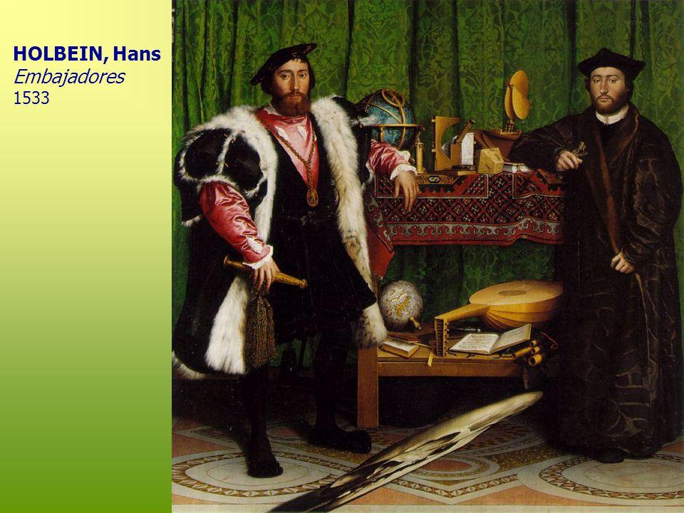 HOLBEIN, Hans Embajadores 1533