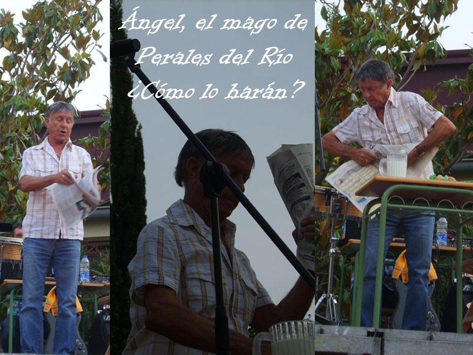 Ángel, el mago de Perales del Río ¿Cómo lo harán?