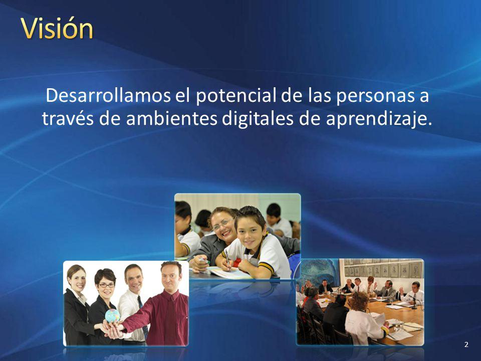 Desarrollamos el potencial de las personas a través de ambientes digitales de aprendizaje. 2