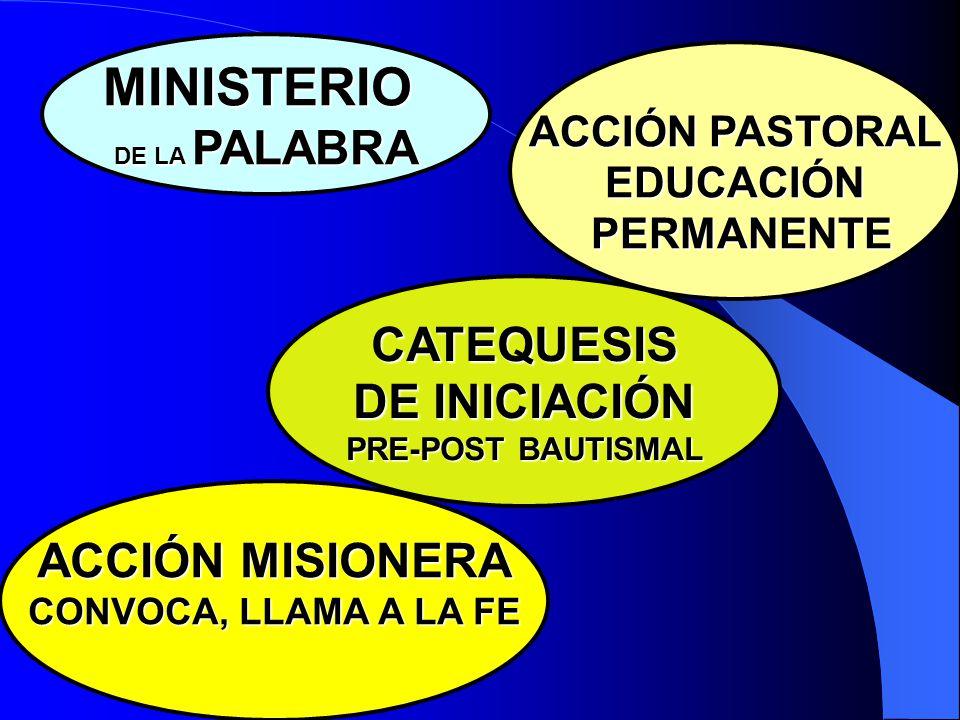LA IGLESIA CONTINÚA LA MISIÓN DE CRISTO POR EL MINISTERIO DE LA PALABRA LA FE VIENE DE LA PREDICACIÓN, SUSCITÁNDOLA Y ALIMENTÁNDOLA, DANDO LUGAR A UNA