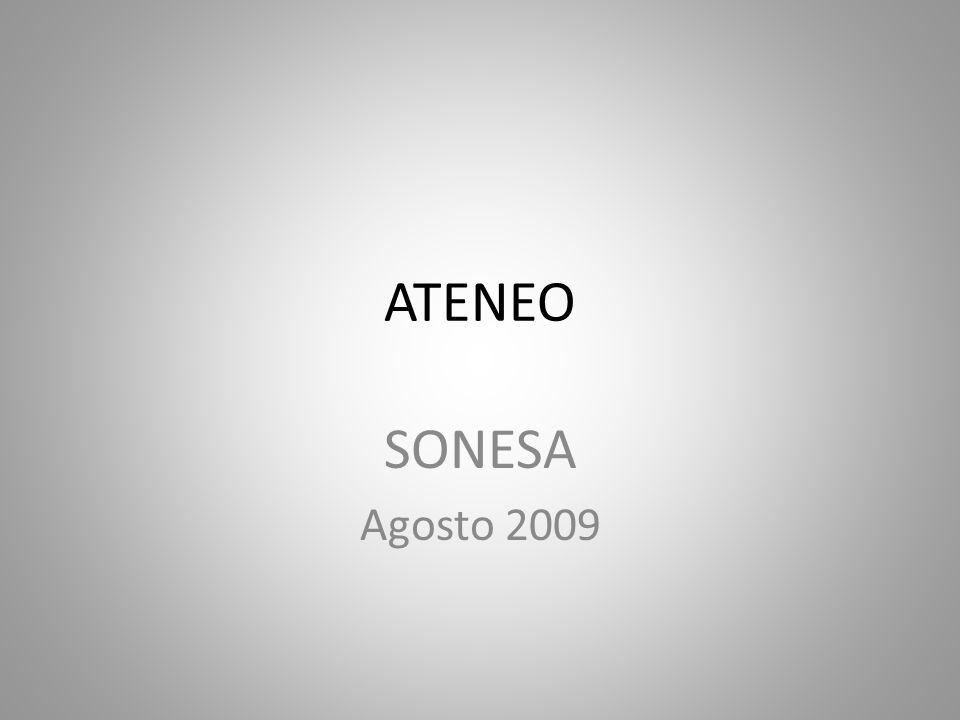ATENEO SONESA Agosto 2009