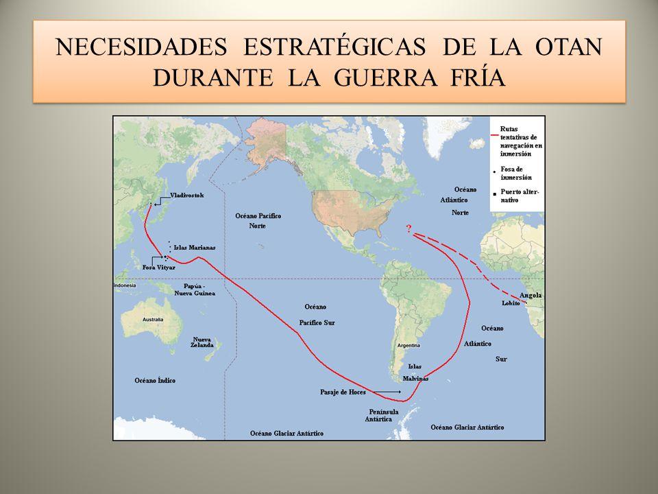 NECESIDADES ESTRATÉGICAS DE LA OTAN DURANTE LA GUERRA FRÍA