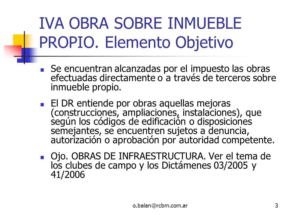 o.balan@rcbm.com.ar74 Ingresos Brutos – Pcia Bs.As.