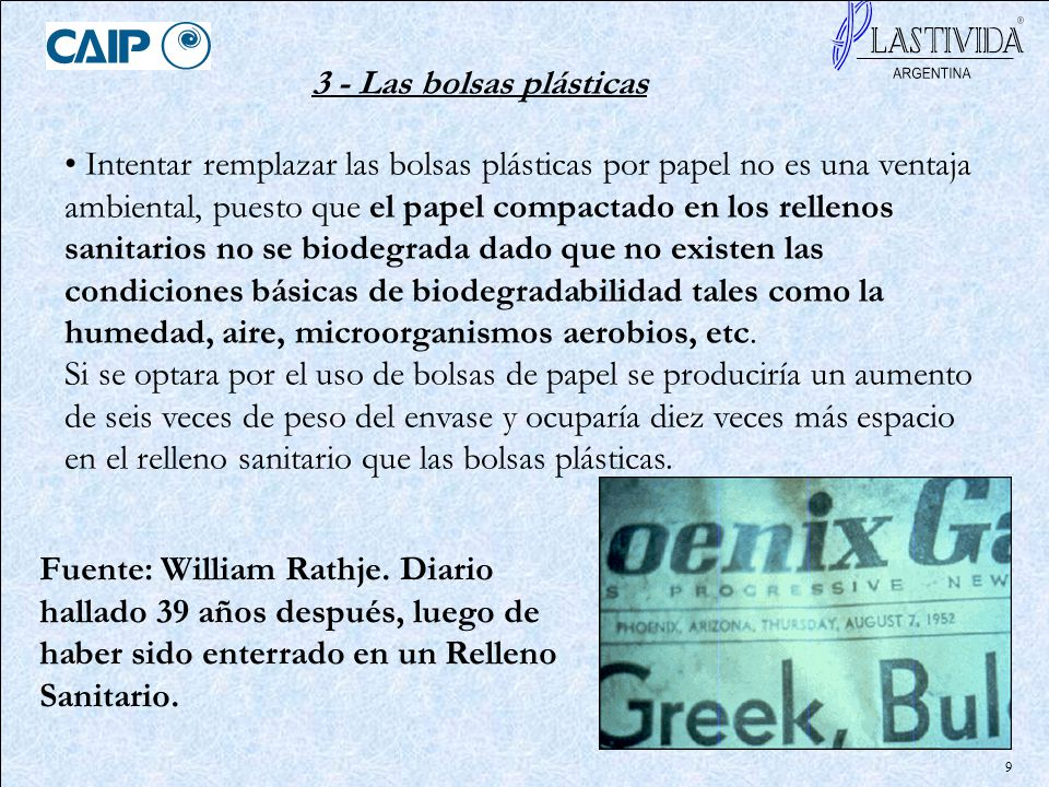 10 4 - Plásticos biodegradables y bolsas plásticas biodegradables.