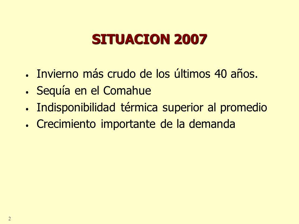 3 QUE HIZO EL GOBIERNO.Restringió exportaciones de gas a Chile.