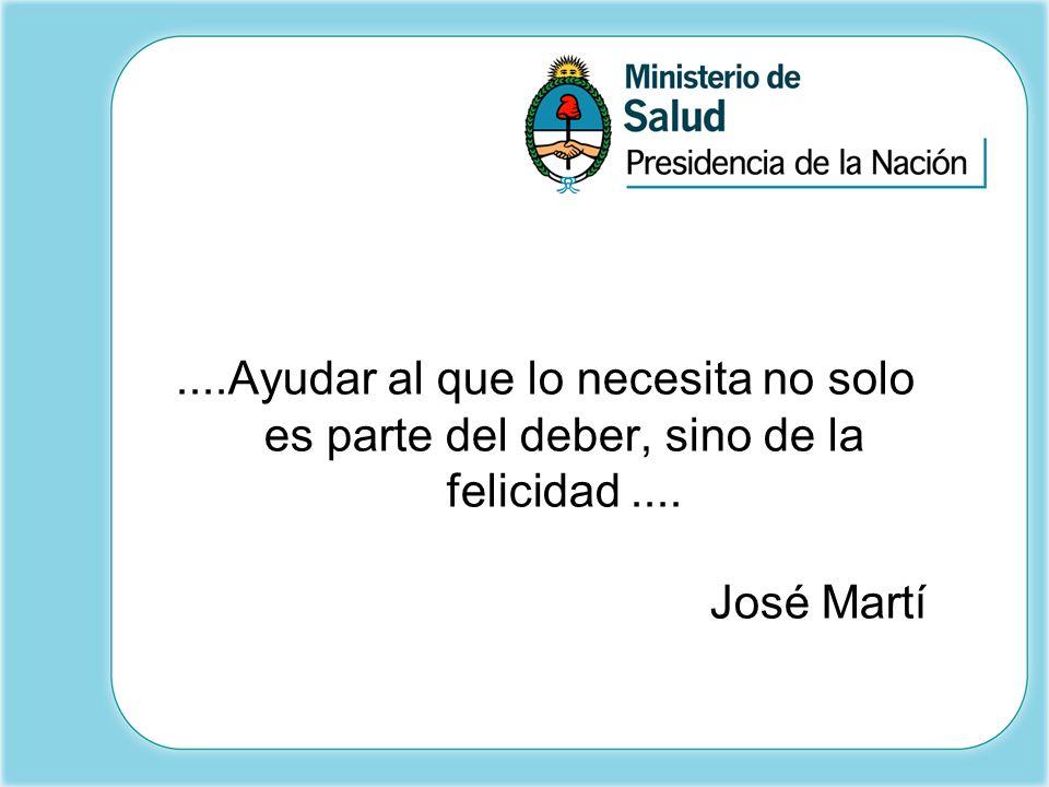 ....Ayudar al que lo necesita no solo es parte del deber, sino de la felicidad.... José Martí