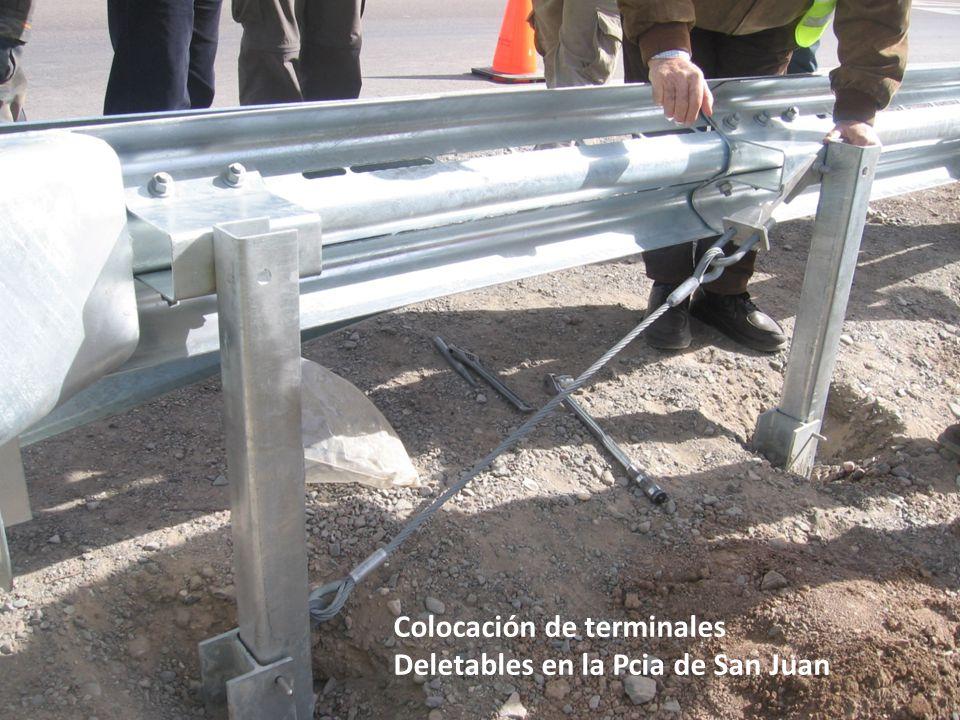 Colocación de terminales Deletables en la Pcia de San Juan