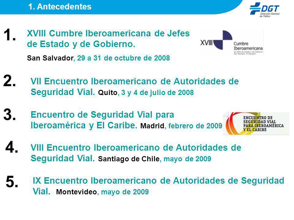XVIII Cumbre Iberoamericana de Jefes de Estado y de Gobierno. San Salvador, 29 a 31 de octubre de 2008 VII Encuentro Iberoamericano de Autoridades de