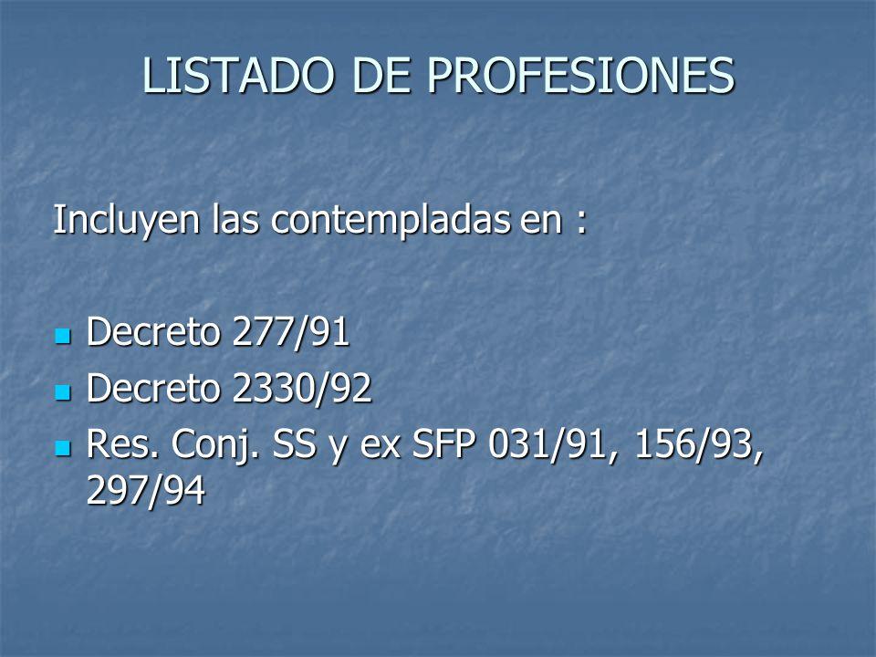 Evaluación Profesional Entre el 1 de Enero y el 30 de Diciembre de cada año.