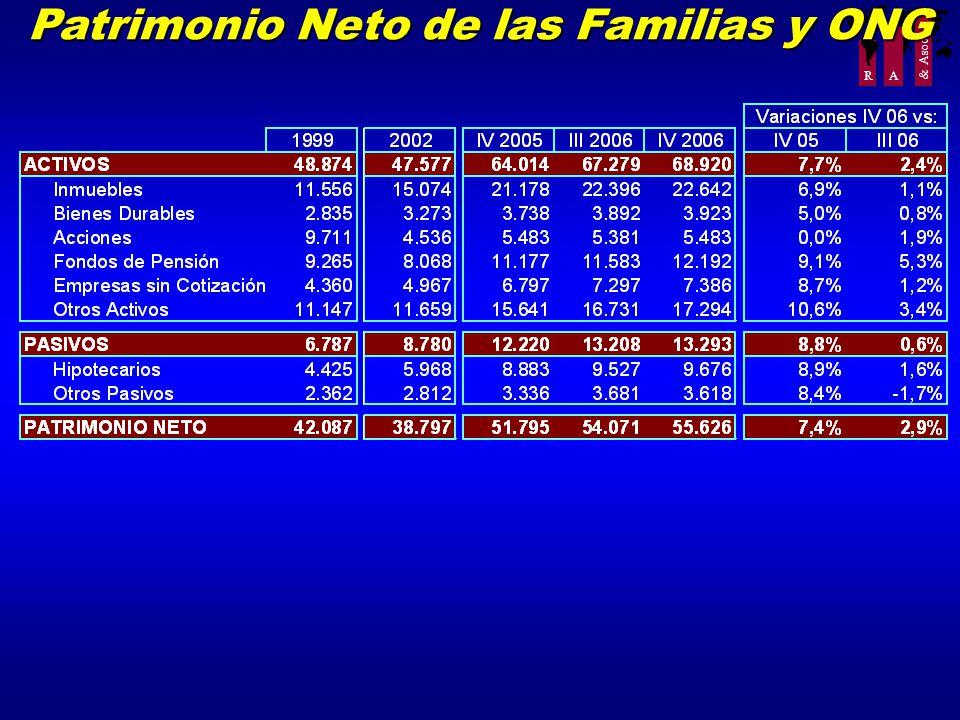 R A & Asoc. Patrimonio Neto de las Familias y ONG