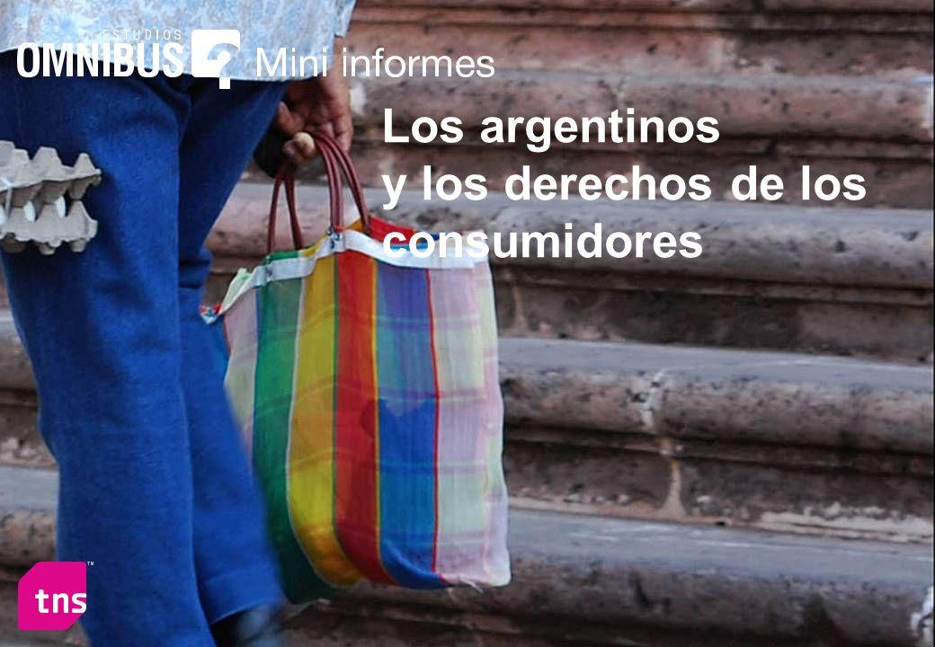 Los argentinos y los derechos de los consumidores