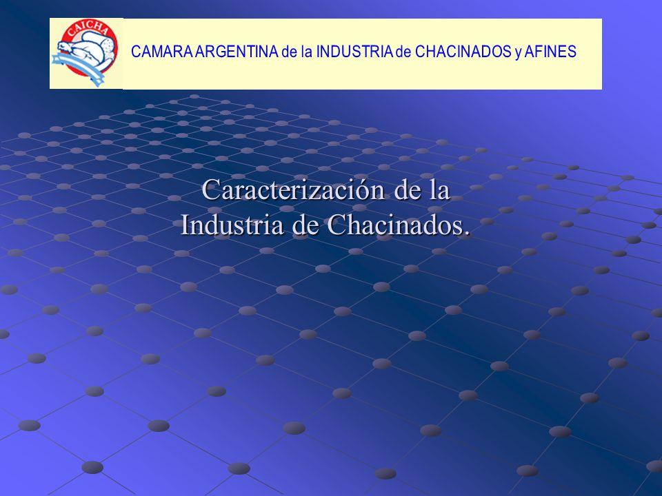 Caracterización de la Industria de Chacinados.