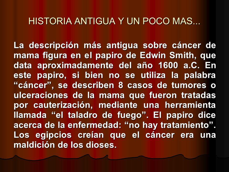 HISTORIA ANTIGUA Y UN POCO MAS...