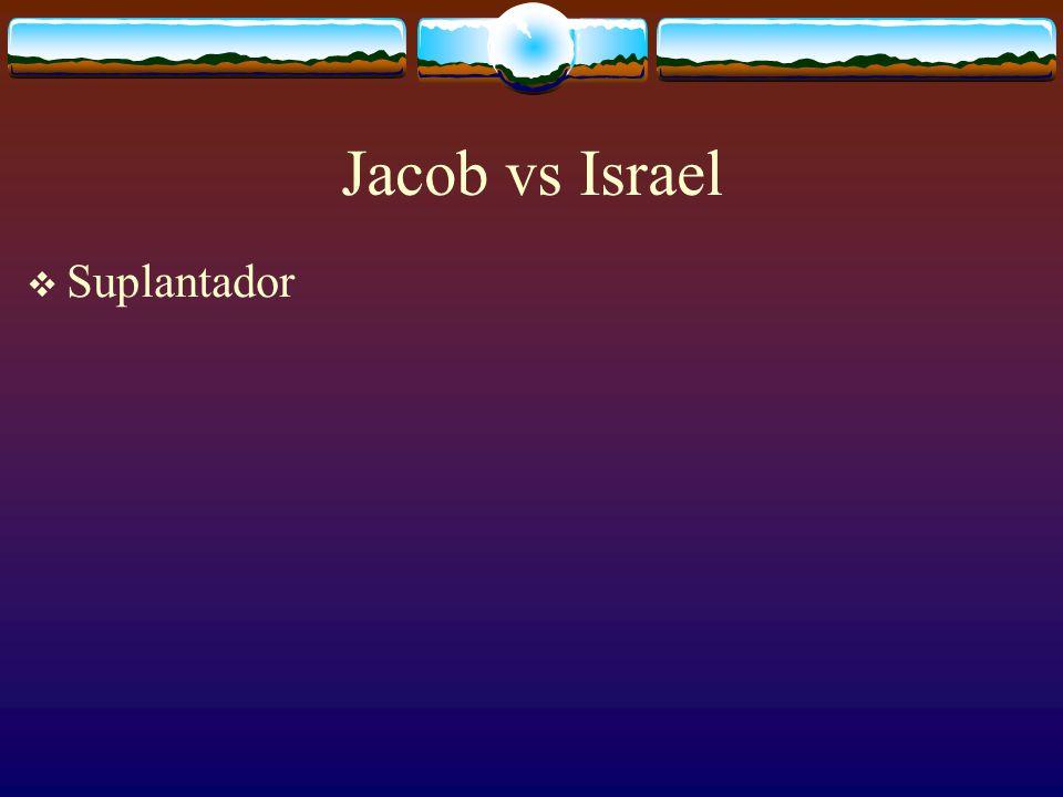 Cuando Jacob nació de nuevo y recibió un nuevo nombre Israel, también en su vida comenzó la misma lucha espiritual: El viejo Jacob Contra el nuevo Isr