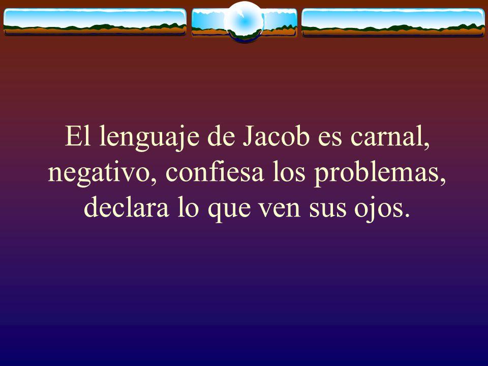 Jacob vs Israel Suplantador Luchador derrotado Actúa en sus fuerzas Príncipe de Dios Luchador y vencedor Espiritual