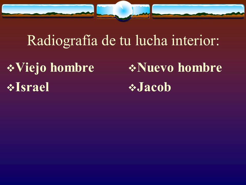 Jacob vs Israel Suplantador