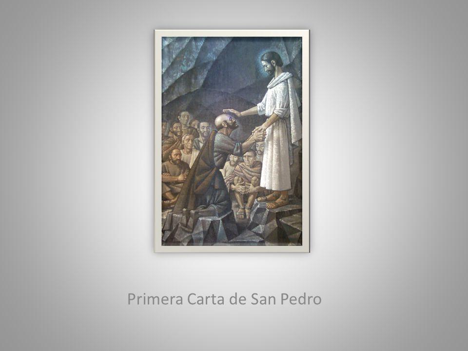 El Espíritu Hay pocas menciones.El Espíritu santifica (1,2).