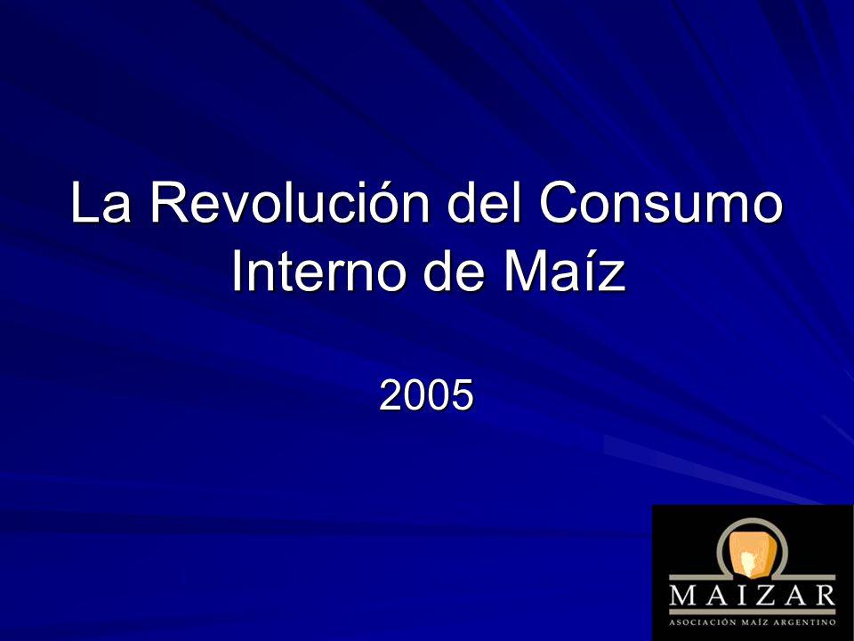 La Revolución del Consumo Interno de Maíz 2005