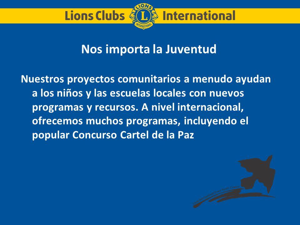 Asociación Internacional de Clubes de Leones Recaudación de fondos.