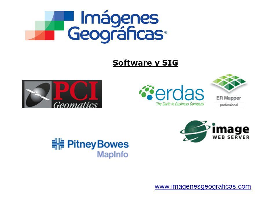 Software y SIG www.imagenesgeograficas.com