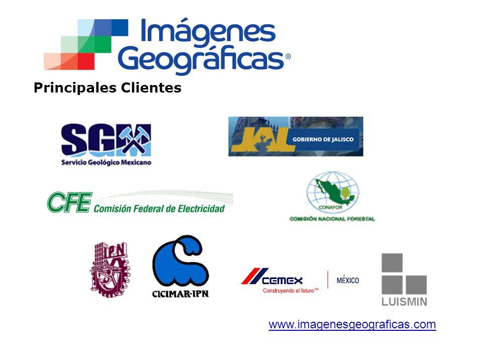 Principales Clientes www.imagenesgeograficas.com
