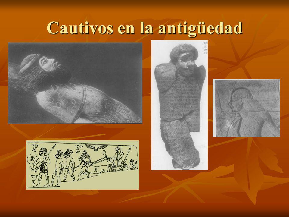 Cautivos en la antigüedad