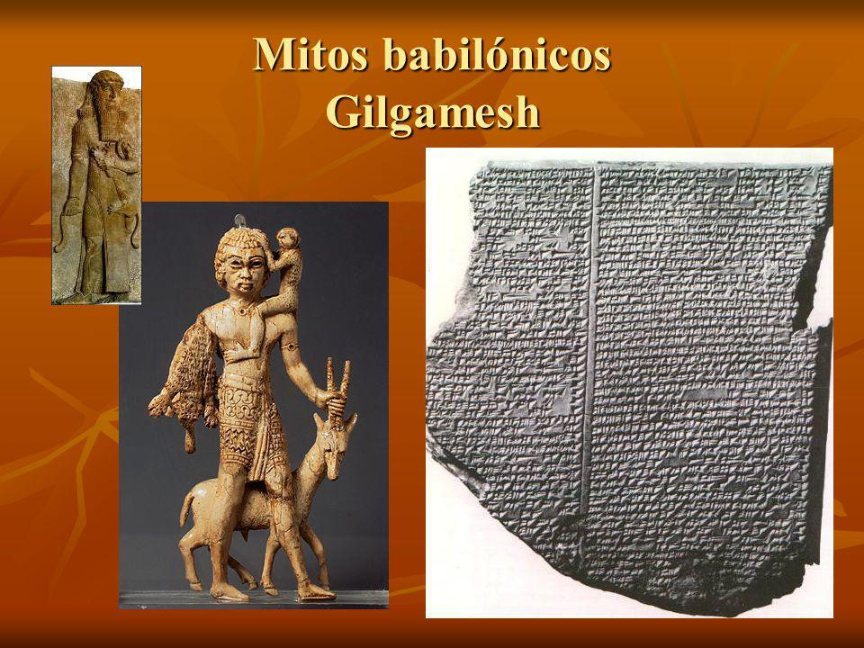 Mitos babilónicos Gilgamesh