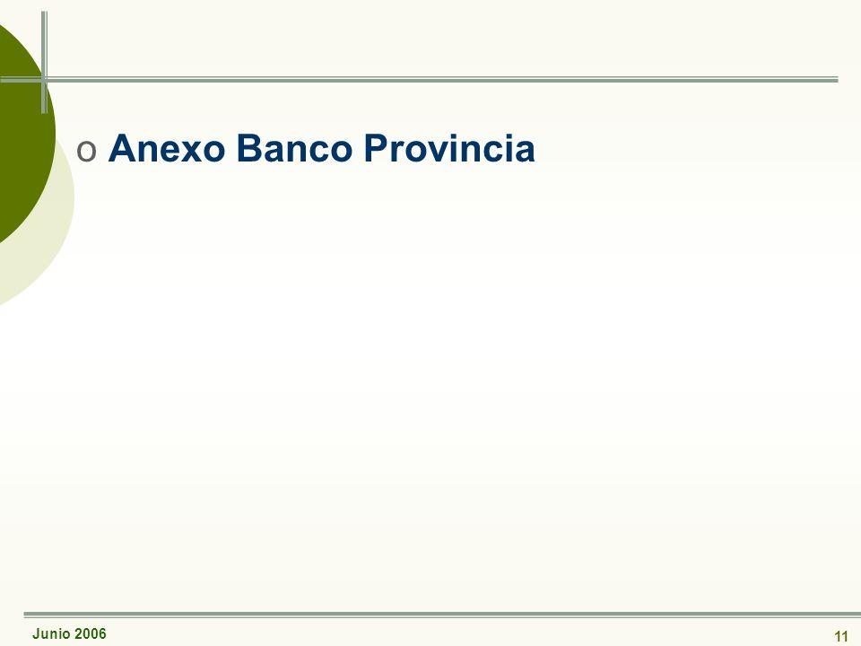 Junio 2006 11 oAnexo Banco Provincia