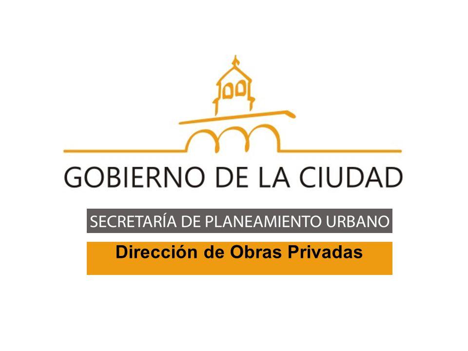 Dirección de Obras Privadas Arq.