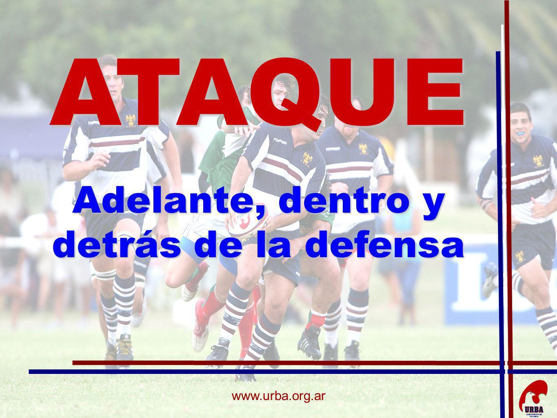 www.urba.org.ar ATAQUE Adelante, dentro y detrás de la defensa