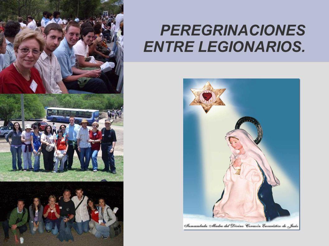 PEREGRINACIONES ENTRE LEGIONARIOS.