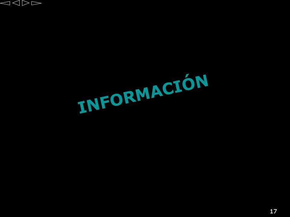17 INFORMACIÓN