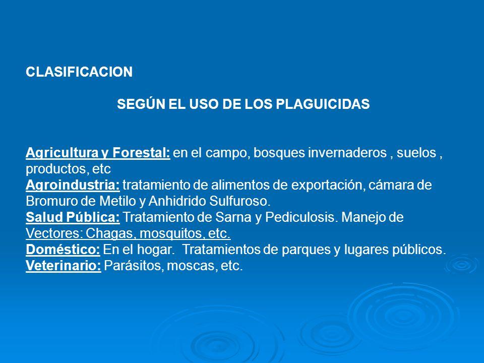 PROPIEDADES FISICO-QUÍMICAS DE LOS PLAGUICIDAS 1.- CARACTERÍSTICAS MEDIO AMBIENTALES 2.- MECANISMOS DE TRANSPORTE AMBIENTAL DE LOS PLAGUICIDAS 2.1.