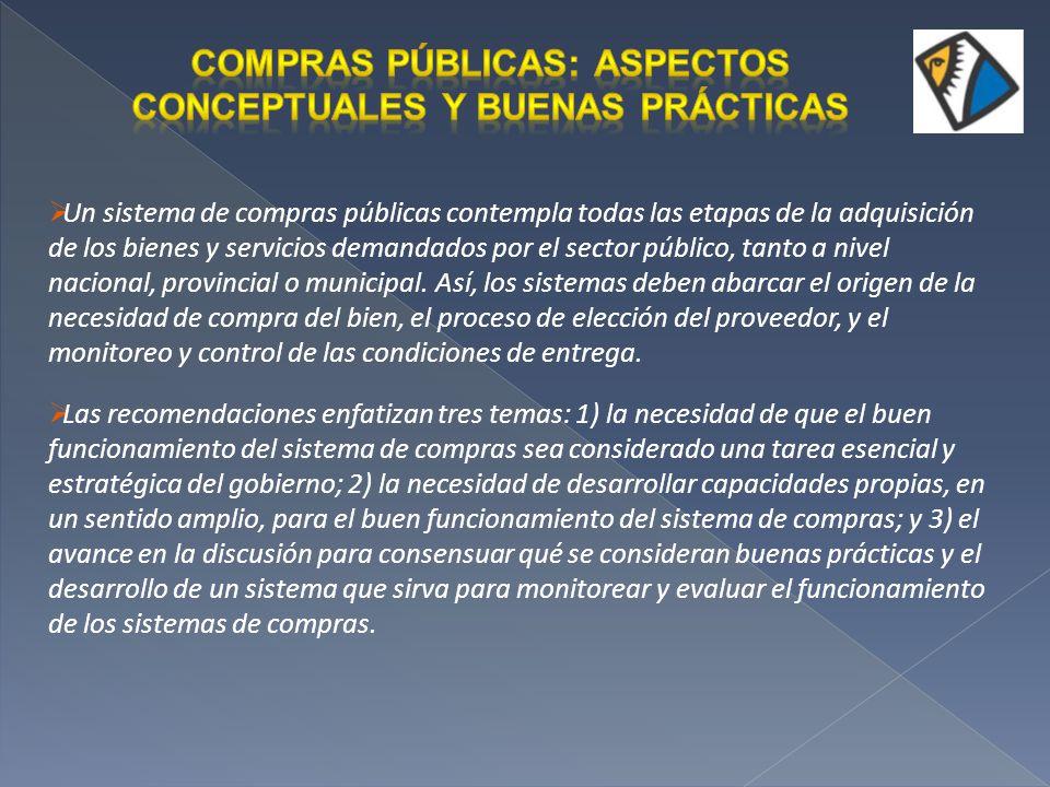 Planificación de la demanda Planificación de la compra Planificación Presupuestaria Pliego de bases y condiciones generales.