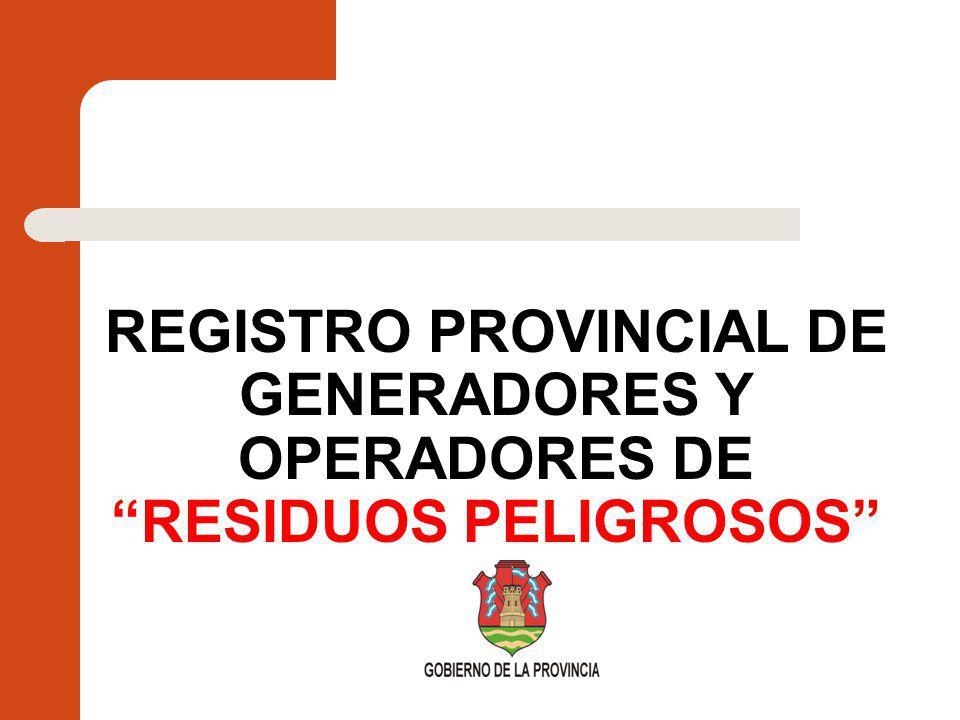 Marco Legal de los Residuos Peligrosos Ley Nacional 24.051 de Residuos Peligrosos Año 1992.